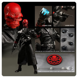 Mezco Toyz One:12 Collective Captain America Red Skull Action Figure