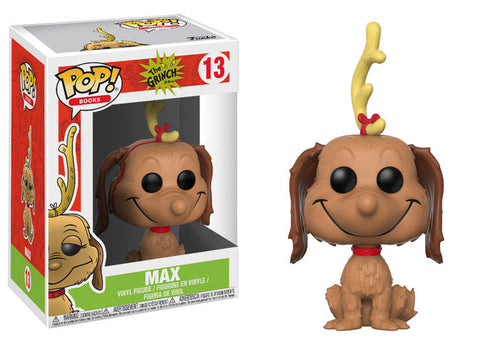 Funko Pop Books The Grinch Max the Dog