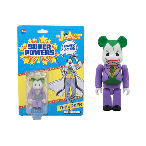 Medicom Be@rbrick 100% DC Super Powers The Joker - Nerdy Collectibles