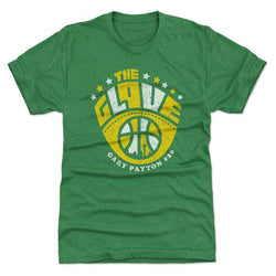 500 Level Gary Payton The Glove Premium Heather Kelly Green Tee