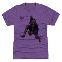 500 Level Vince Carter It's Over Heather Purple Premium Tee