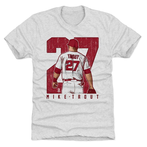 500 Level Mike Trout Clutch Tri Ash Premium Tee