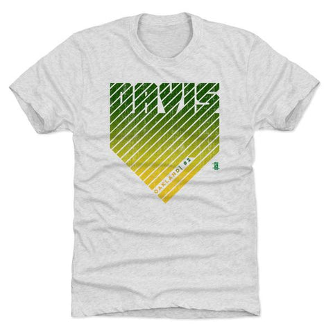 500 Level Khris Davis Home Tri Ash Premium Tee