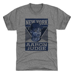 500 Level Aaron Judge Pro Tri Gray Premium Tee