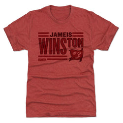500 Level Jameis Winston Stack Tri Red Premium Tee