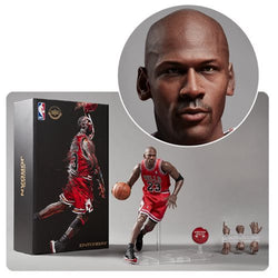 Enterbay NBA Collection Michael Jordan Motion Masterpiece