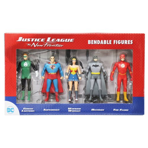 DC Justice League Bendable Figures