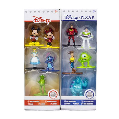 Jada Toys Disney Pixar Nano Metalfigs Die-Cast Figures 5-Pack Wave B