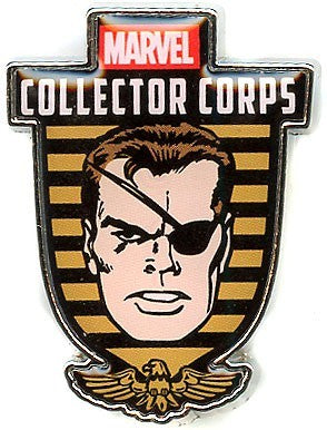 Funko Marvel Nick Fury Pin