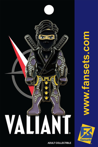 Fansets Valiant Comics Ninjak Pin