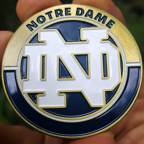 NCAA Football Notre Dame Fighting Irish Coin
