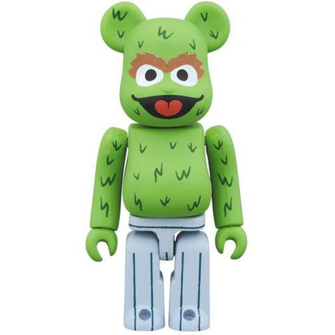 Bearbrick Sesame Street Oscar the Grouch 100% Figure