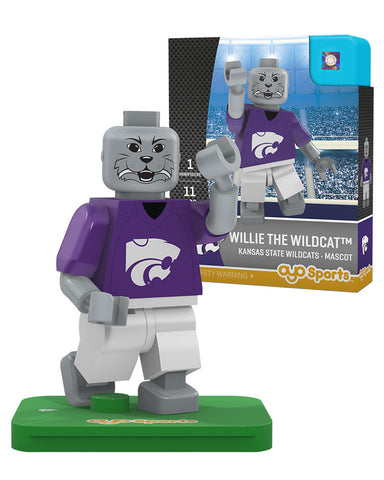 Kansas State Wildcats Mascot Limited Edition OYO Minifigure