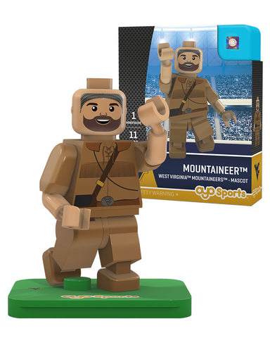 West Virginia® Mountaineers® Mascot Limited Edition OYO Minifigure