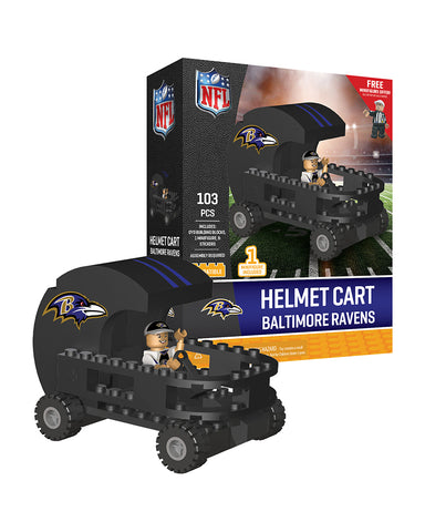 NFL Baltimore Ravens Helmet Cart