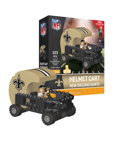 NFL New Orleans Saints Helmet Cart