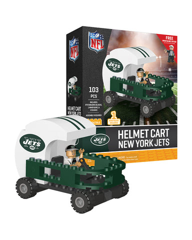 NFL New York Jets Helmet Cart