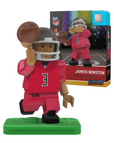 NFL Tampa Bay Buccaneers Jameis Winston Color Rush Mini Figure