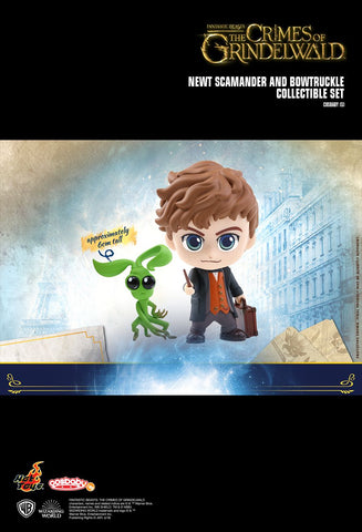 Fantastic Beasts 2:  The Crimes of Grindelwald - New Scamander & Bowtruckle Cosbaby