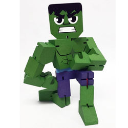 Marvel Wood Warriors The Hulk Action Figure