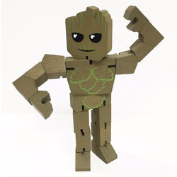 Marvel Wood Warriors Groot Action Figure