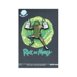 Rick and Morty Pickle Rick with Rat Limbs Lapel Pin