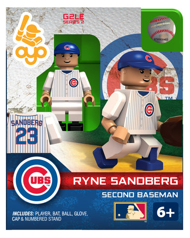 MLB Chicago Cubs Ryne Sandberg Mini Figure