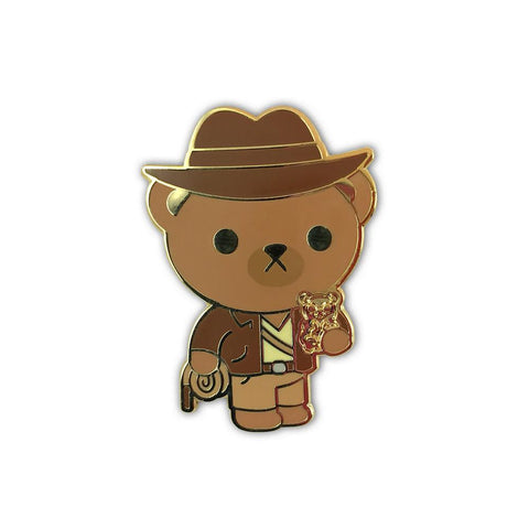 100% Soft Bearison Ford Indiana Bear Pin