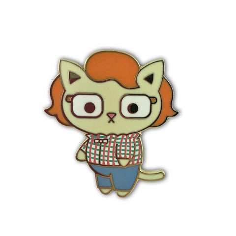 100% Soft Kitty Cosplay Barb Pin