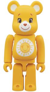 Bearbrick Care Bears Funshine Bear 100% Figure