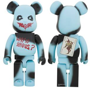 Bearbrick DC Dark Knight Trilogy The Joker 1000% Why So Serious Figure