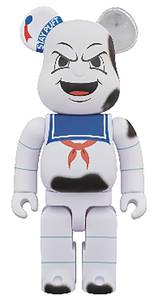 Bearbrick Ghostbusters Stay Puft 400% Anger Face Figure
