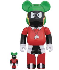 Bearbrick Space Jam Marvin the Martian 100% and 400% Figures