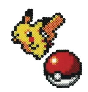 Pokémon Pikachu and Pokeball Nanobead Set