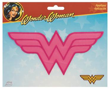 DC Heroes Pink Wonder Woman Logo Patch