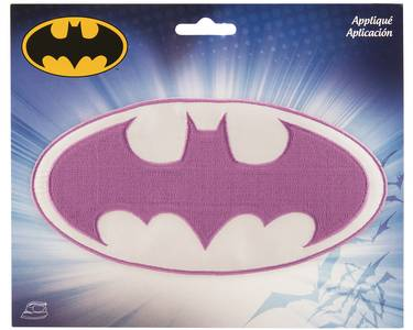 DC Heroes Purple Batgirl Logo Patch