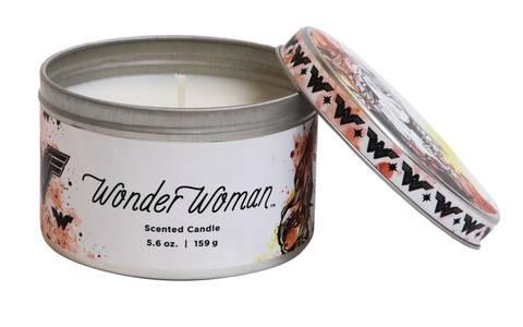 DC Heroes Wonder Woman Scented Candle Tin