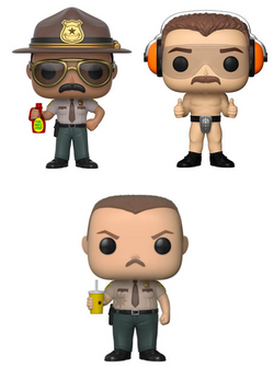 Funko Pop Movies Super Troopers Set of 3