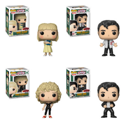 Funko Pop Movies Grease Set of 4