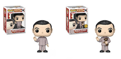 Funko Pop Television Mr. Bean - Mr. Bean in Pajamas Chase Set of 2