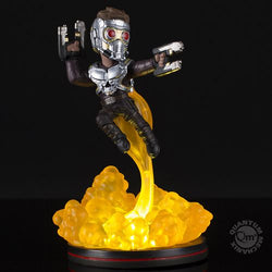 QMx Marvel Guardians of the Galaxy Star-Lord Light-Up Q-Fig FX Diorama
