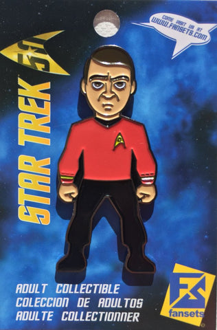 Fansets Star Trek Scotty Enamel Pin