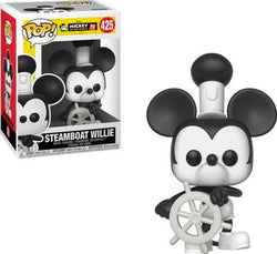 Funko Pop Disney Mickey's 90th - Steamboat Willie