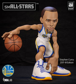 IconAI Small-Stars NBA Golden St. Warriors Stephen Curry 2017-2018 Icon Edition Figure