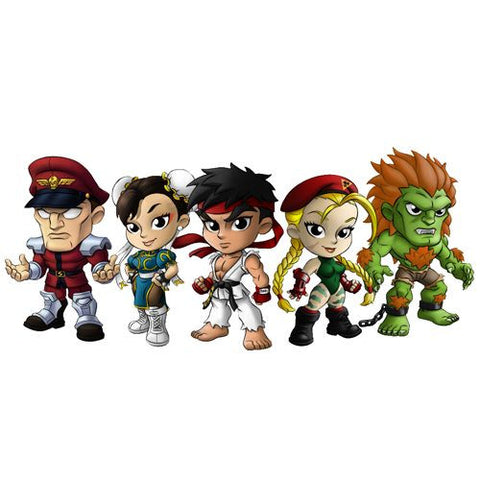 Cryptozoic Entertainment Street Fighter Lil' Knockouts Mini Figure Series 1 - Blind Tins - Nerdy Collectibles