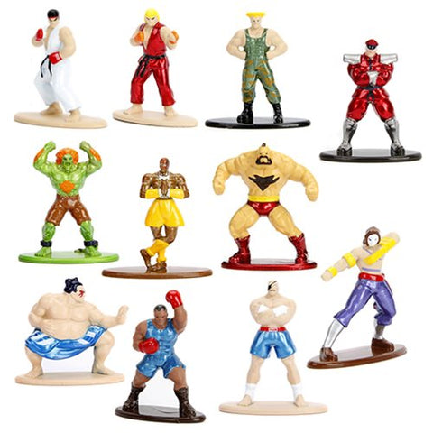 Jada Toys Street Fighter Nano Metalfigs Die-Cast Ryu Fireball Figure