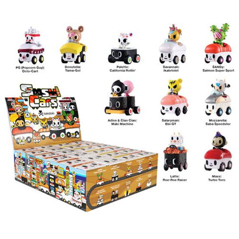 Tokidoki Sushi Cars Mini Figures - Blind Box