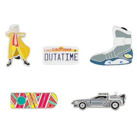 Back to the Future Pin Set