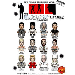 Titan Merchandise Archer Collection Mini-Figures Blind Box