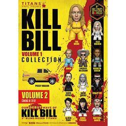 Titan Merchandise Kill Bill Volume 1 Mini-Figures Blind Box